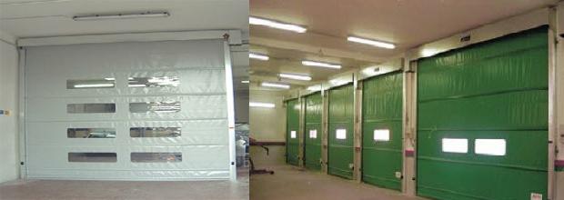 High Speed Fold-Up Doors